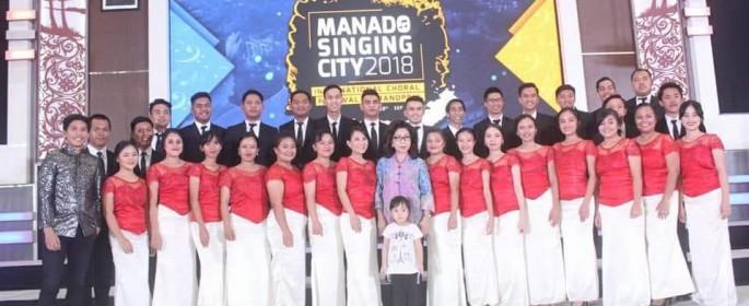 Buktikan Manado sebagai Singing City