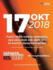#GMHP Gerakan Melindungi Hak Pilih