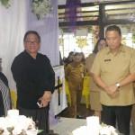 Walikota JFE Melayat Jenazah Mertua Sekot Lolowang