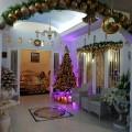 Dekorasi Natal ala Kel Pangalila Sumajow (Foto: Akun FB Olke Sumajow).