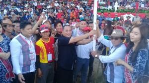 hasil pertandingan Kejuaraan  Pacuan Kuda Piala Bupati dan Wakil Bupati Minahasa