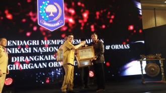 Penghargaan Pemda Pembina Ormas Terbaik untuk Sulawesi Utara