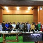 Wenur – Lullulangi Sambut Kunker DPRD Gorontalo