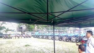 - Kementerian Pertanian Direktorat Prasarana dan Sarana Pertanian (PSP) memberikan bantuan Alat Mesin Pertanian