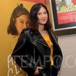 Dian Sastrowardoyo saat ditemui dalam premier film Aruna dan Lidahnya di Jakarta, Kamis, 20 September 2018. Film ini disutradarai Edwin dengan penulis skenario Titien Watimena. (TEMPO/Nurdiansah)