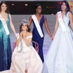 Ekspresi Miss Meksiko, Vanessa Ponce de Leon (depan), saat terpilih menjadi pemenang Miss World 2018 di Sanya, Pulau Hainan, Cina, 8 Desember 2018. REUTERS/Jason Lee