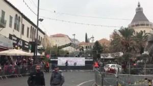 Suasana Natal di Nazareth. jpost.com.