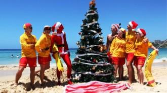 Satu Tempat Terbaik Liburan Natal di Pantai Bondi, Australia. (ist).