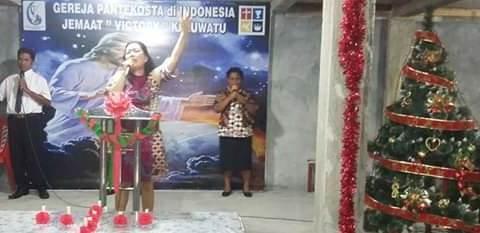 anggota Komisi Pelayanan Penginjilan Panpekota Pusat (KP4) Zona Sulawesi Ev. Fransisca Sanjaya SE