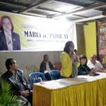Gelar Reses, Maria Pijoh Sampaikan Ranperda Pemakaman dan Pengabuan