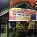 Reses Michael Lala, Paparkan Ranperda Pemakaman dan Pengabuan