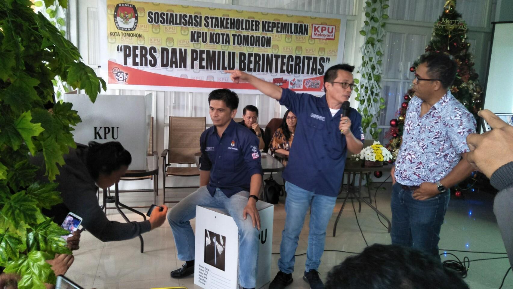 KPU Gandeng Pers Wujudkan Pemilu Berintegritas