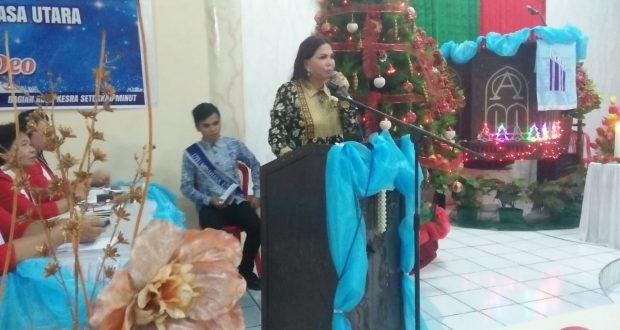 Memaknai Natal Penuh Damai di GPdI Likupang II dan GMIM Sion Batu