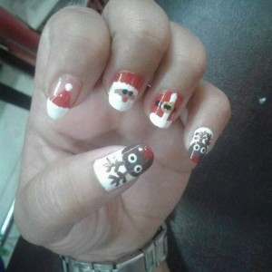 Inchess Nail Art di Lnt.3 ITC Manado (Foto ist Rinny Angelina Rotty)