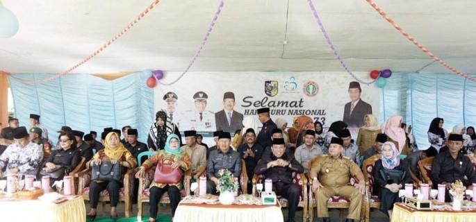 Pemkab Bolmut Peringati HUT Ke 73 PGRI dan Hari Guru Nasional