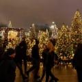 Perayaan natal di luar negeri. (net)