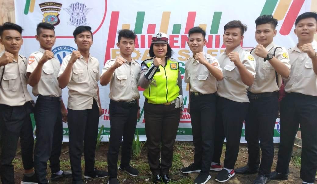 Ayo Viralkan! 'Millenial Road Safety Festival' di Minut