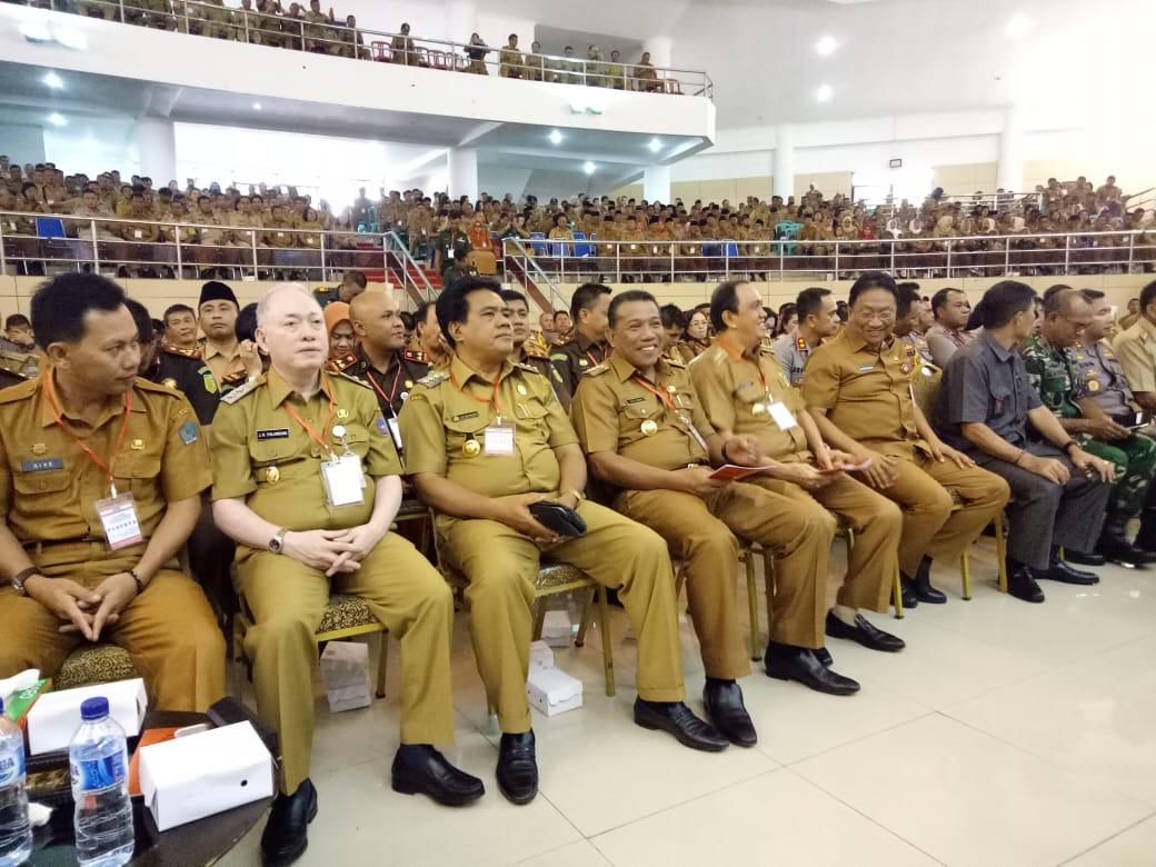 Bupati Bolmut Hadiri Rakorda Persiapan Pemilu 2019 di Manado
