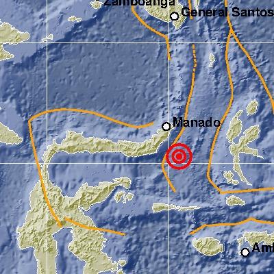 Gempa Tektonik M 5,3 di Bolmong Tidak  Berpotensi Tsunami