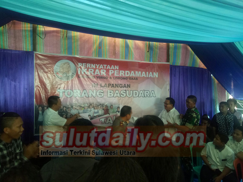 Pernyataan Ikrar Damai Lorong Virgo dan Gaas Dihadiri Wawali dan Kapolres