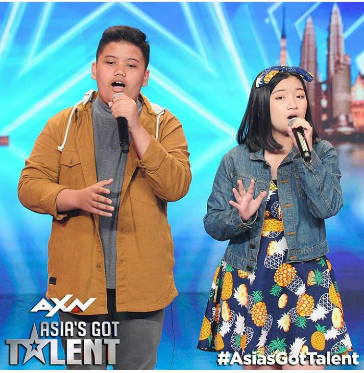 Ayo Vote Kezia di Semi Finalist Asia's Got Talent 2019.