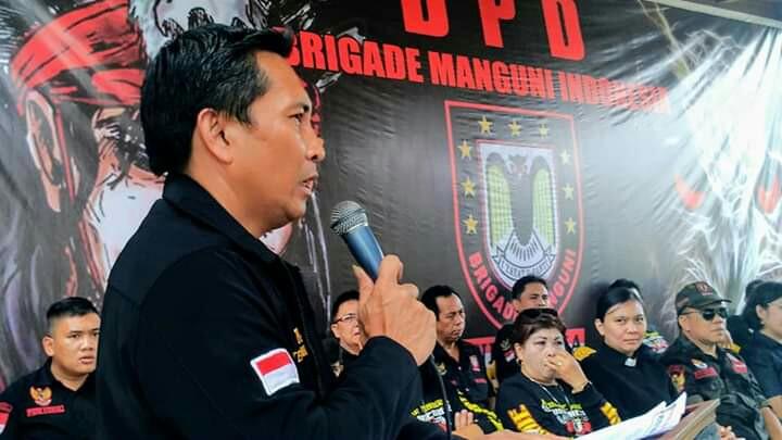 Wongkar Wakili Walikota di Pelantikan BMI Tomohon