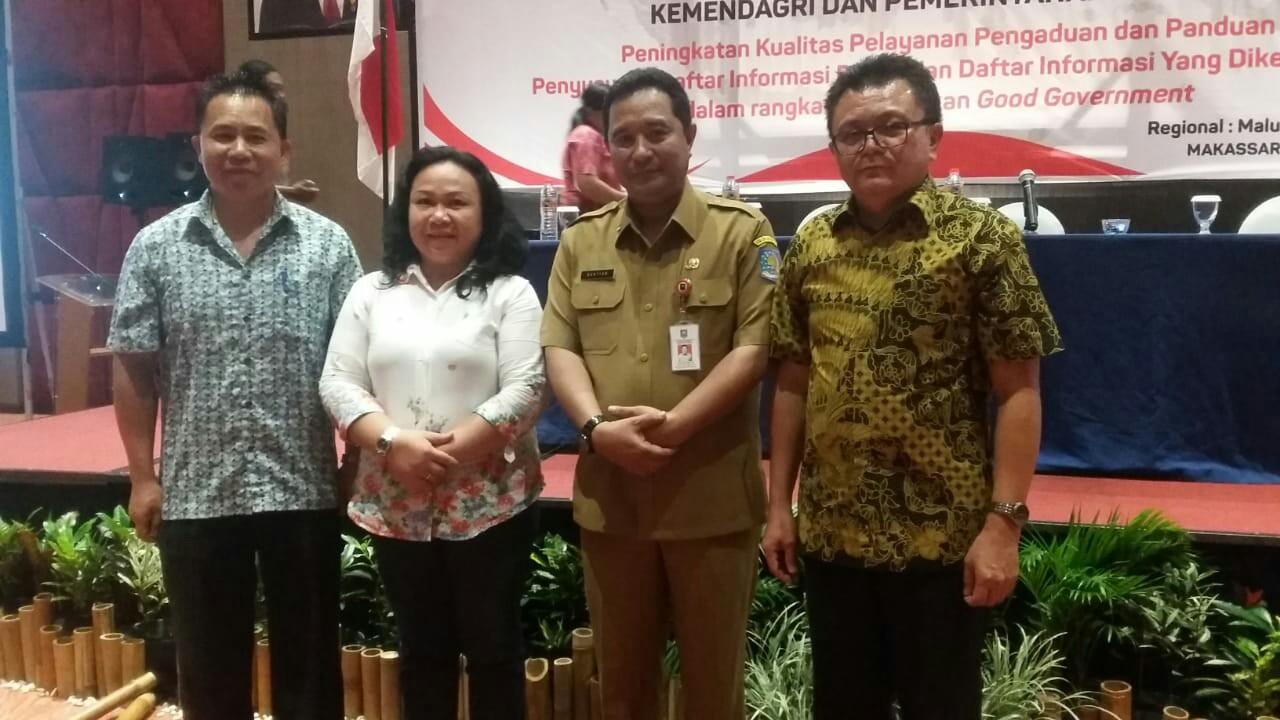 Rakor PPID di Makassar, Pemkot Tomohon Kirim Delegasi