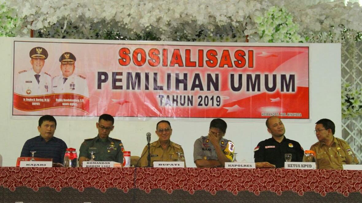 ROR Ajak Sukseskan Pemilu 2019 Dengan Jaga Kerukunan dan Kebersamaan