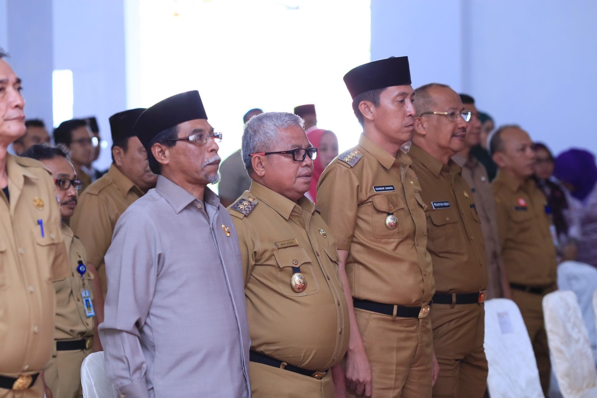 Wakil Bupati Bolmut Hadiri Rakor Pencegahan Korupsi Terintegrasi Tahun 2019 Dikotamobagu