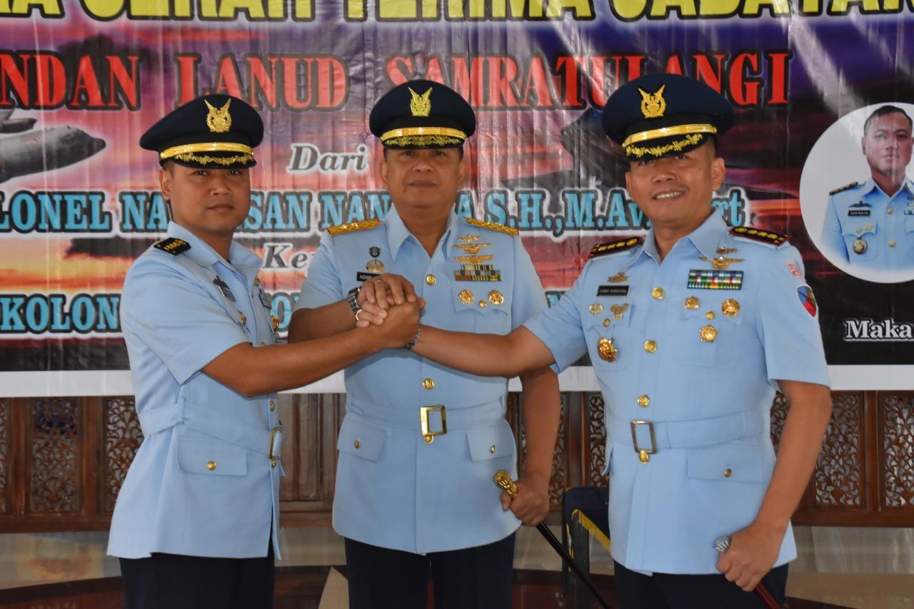 Kolonel Pnb Johnny Sumaryana Resmi Gantikan Kolonel Nav Insan Nanjaya