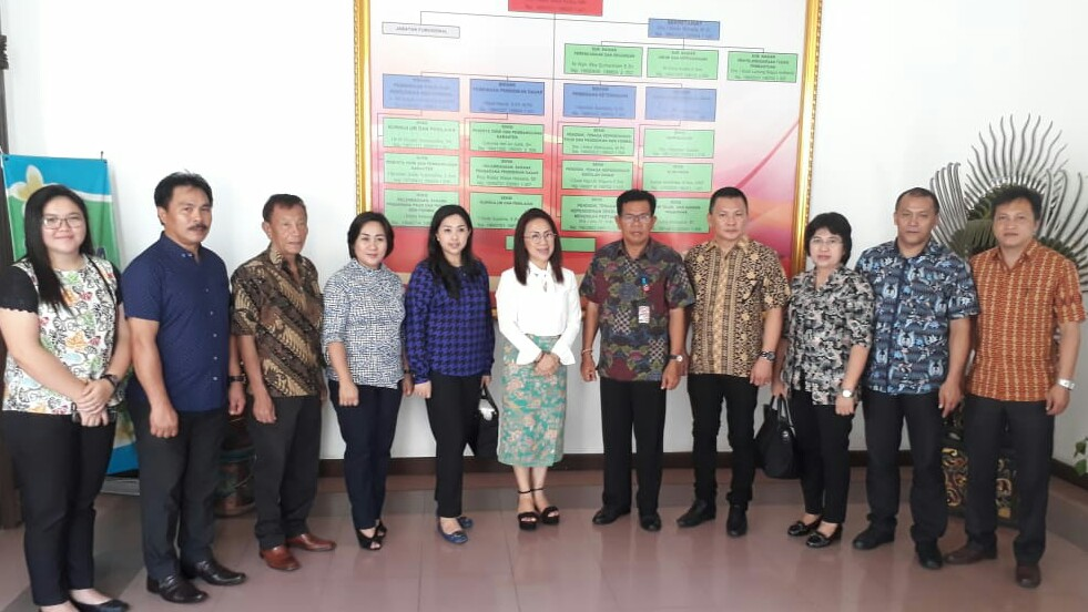 Wenur – Moningka Pimpin Kunker Komisi III di Badung Bali