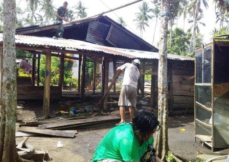 Bakal Miliki Rumah Layak, Om Robby Sangat Bersyukur