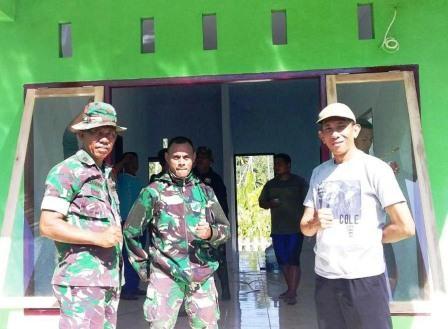 Dansatgas TMMD Ke-105 TA. 2019 Kodim 1310/Bitung Bangga Atas Kinerja TNI Dan Rakyat