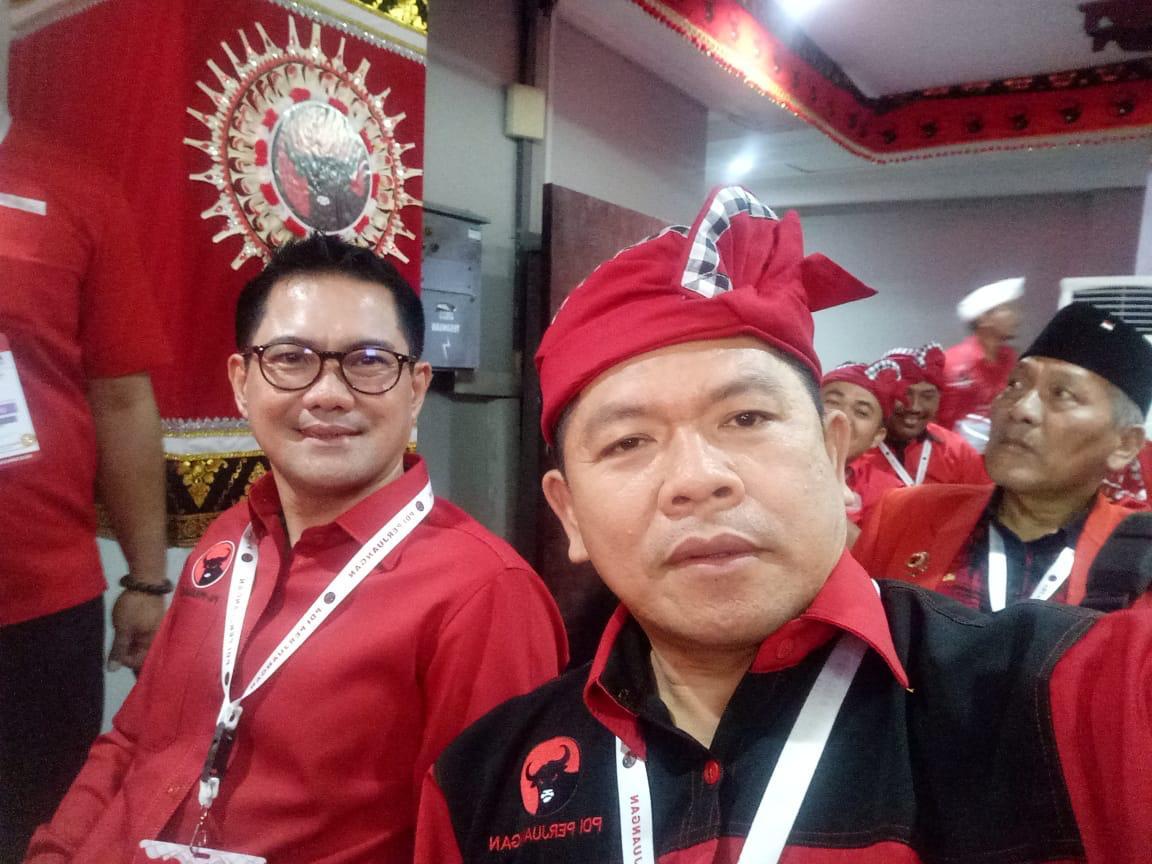 Joune Ganda Hadiri Kongres PDI-Perjuangan Ke- V 2019 di Bali