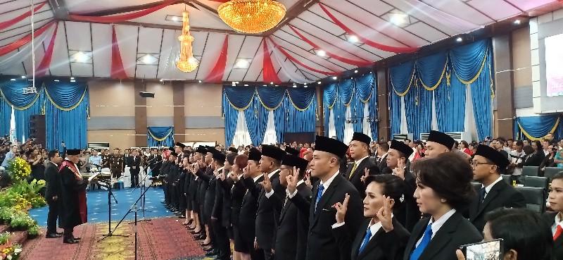 40 Anggota DPRD Kota Manado Resmi Bertugas