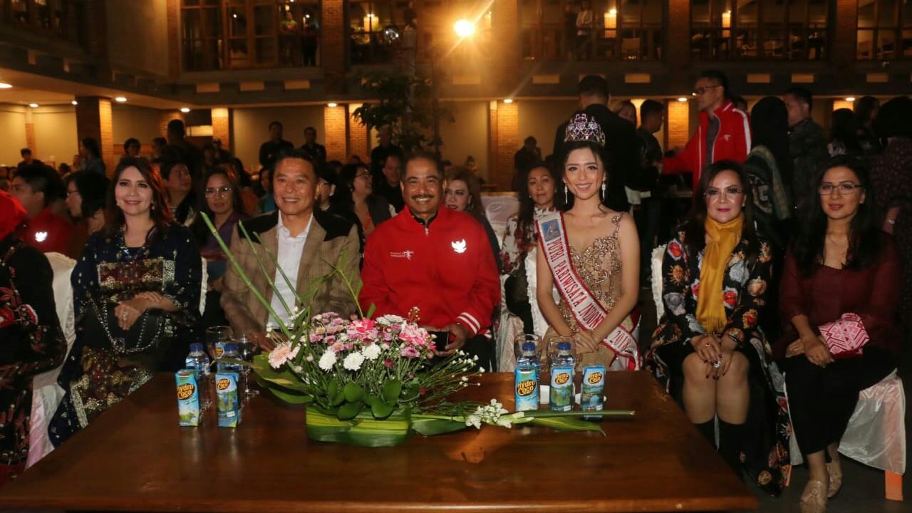 Arief Yahya dan JFE Hadiri Kontes Ratu Bunga
