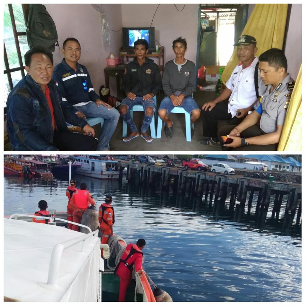 Basarnas Jemput 7 Korban Kecelakaan Laut Asal Bitung di Pulau Salebabu Talaud