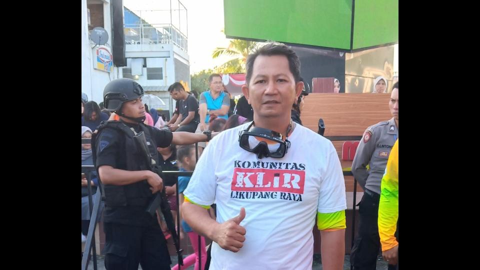 Jelly Maramis Wakili Komunitas Likupang Raya (KLiR) Dalam Pemecahan Rekor Dunia Selam di Pantai Manado
