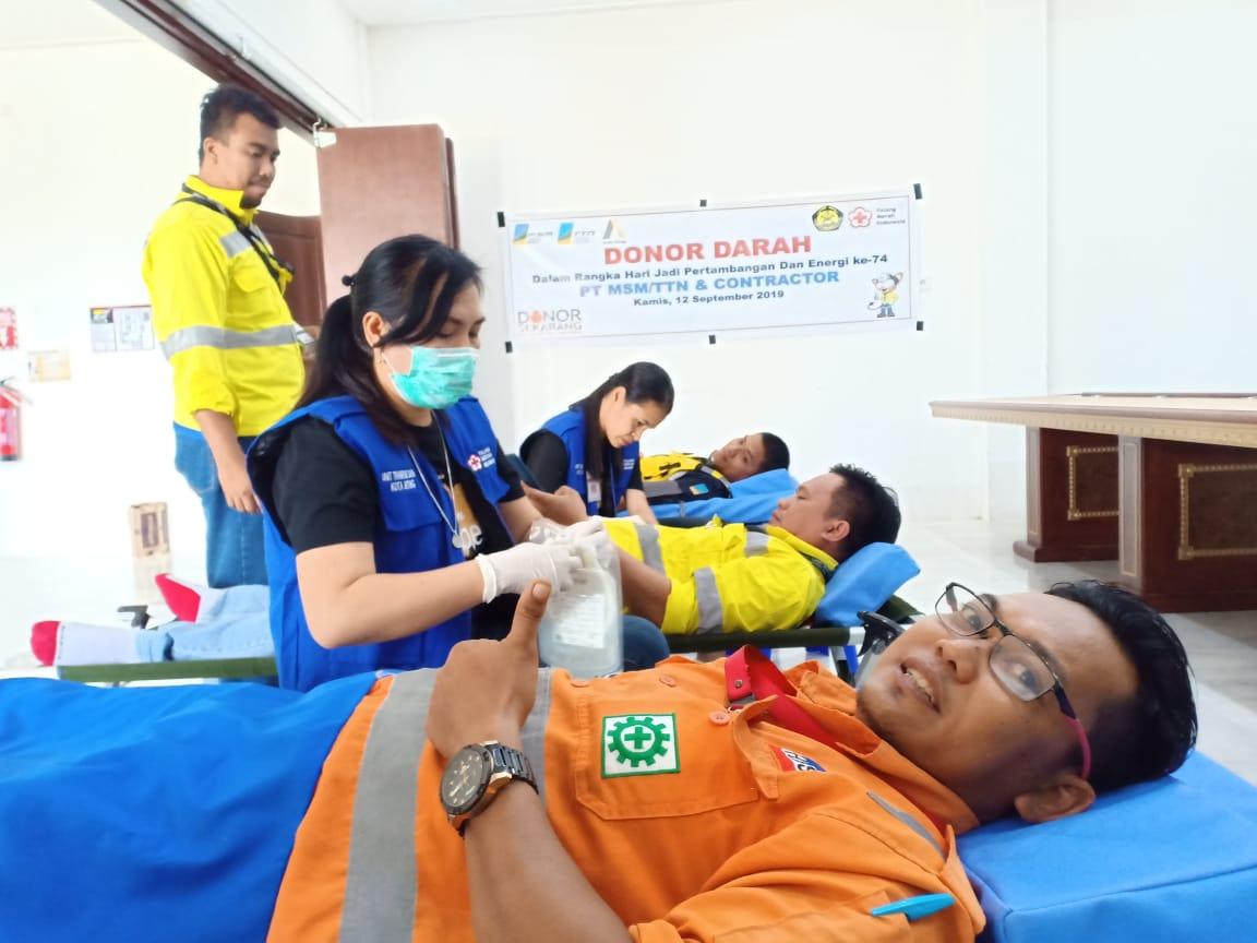 PMI Bitung dan PT MSM Rutinkan Program Donor Darah