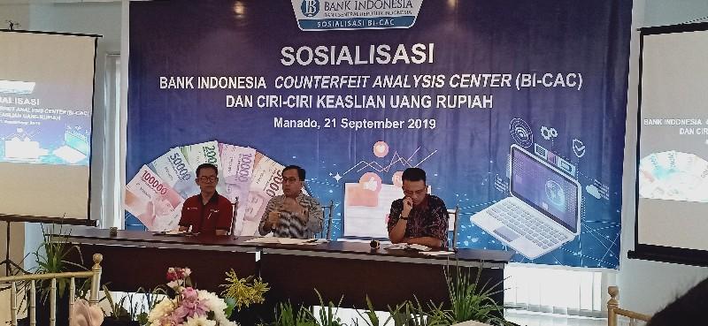 Terbanyak di Manado, 135 Lembar Uang Palsu Beredar di Sulut