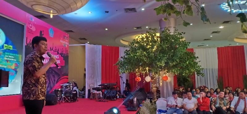 Wakili Bupati VAP, Mingkid Paparkan Potensi Minahasa Utara di Sulut Expo 2019