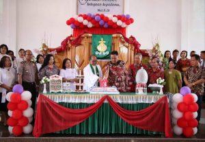Gubernur OD Ingatkan Pentingnya Sinergitas Gereja dengan Pemerintah