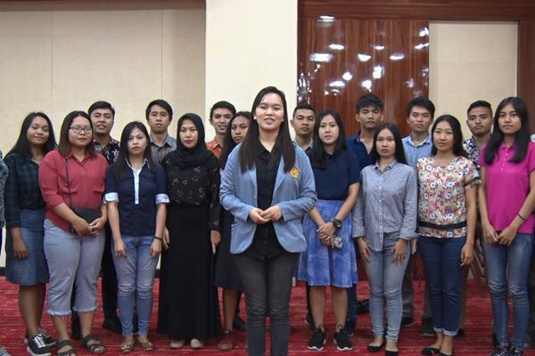 Wakil Rektor Tolak Demo Anarkis, Mahasiswa Unsrat Dukung Pelantikan Presiden dan Wakil Presiden