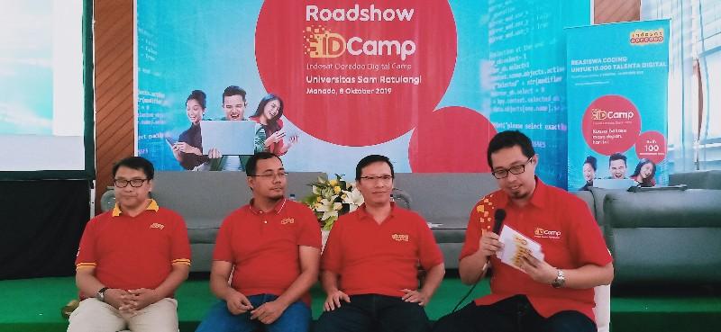 Roadshow IDCamp di Unsrat Manado, Peserta Capai 22.000