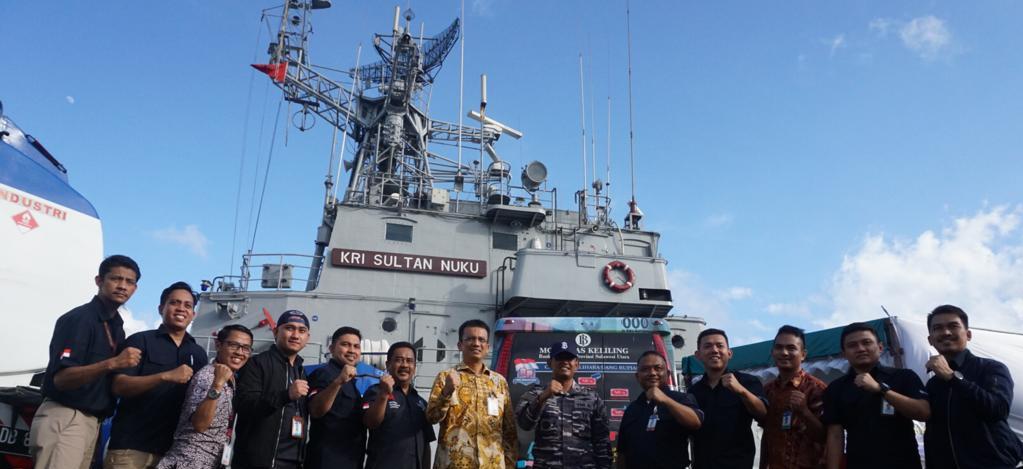Tim Kas Keliling 3T BI Sulut Menuju Utara NKRI, Sasar 7 Pulau