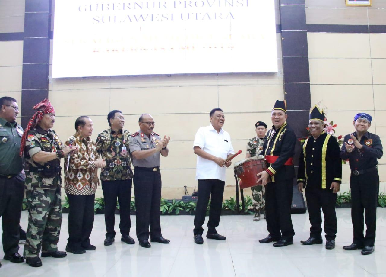 Olly Dondokambey Beri Pesan Khusus untuk Laskar Manguni Indonesia