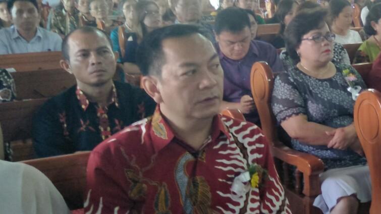 Senduk Syukuri Ultah ke-159 GMIM Pniel Kayawu