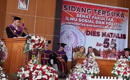 Dies Natalis Fisip Unsrat Manado ke 55, Momen Perbaikan Layanan Institusi