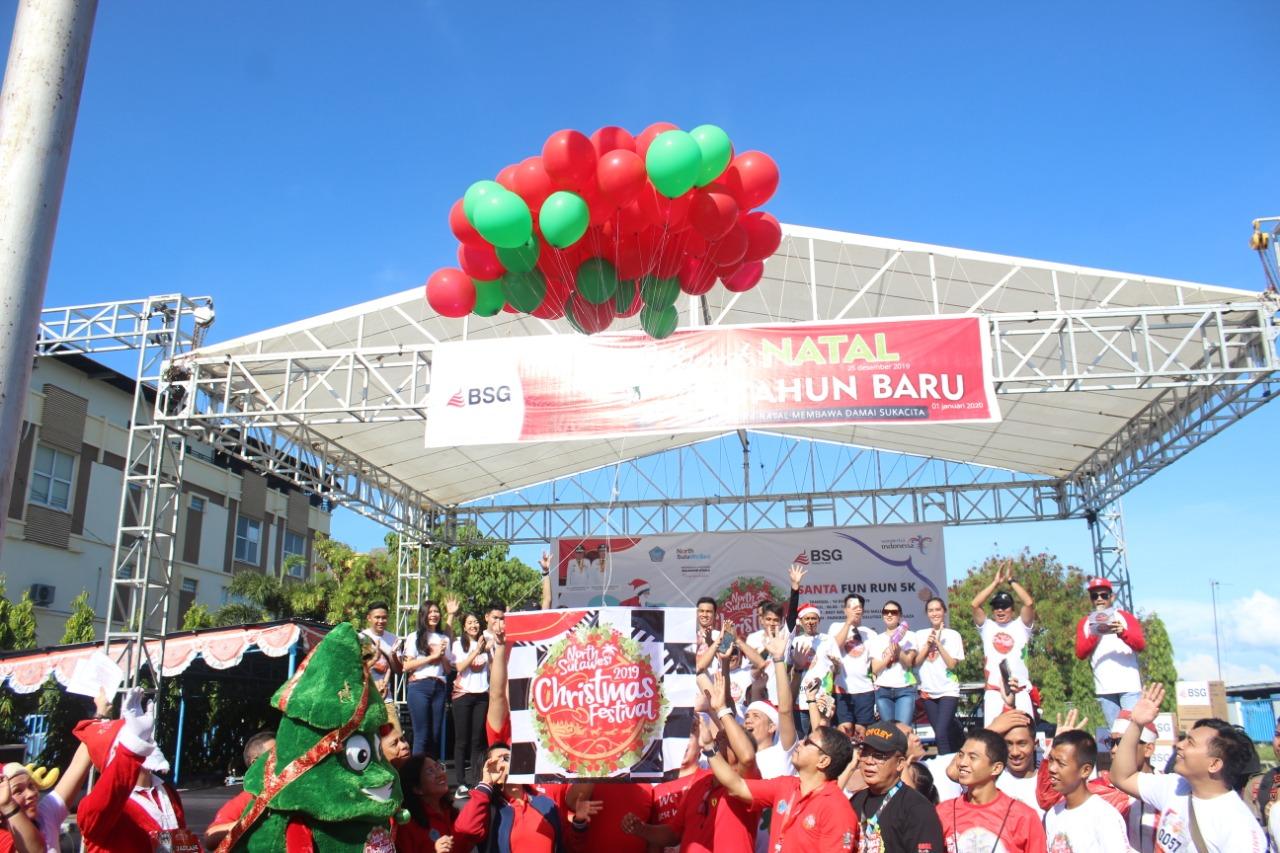 Santa Fun Run 5K, Awali Rangkaian Event NSCF 2019