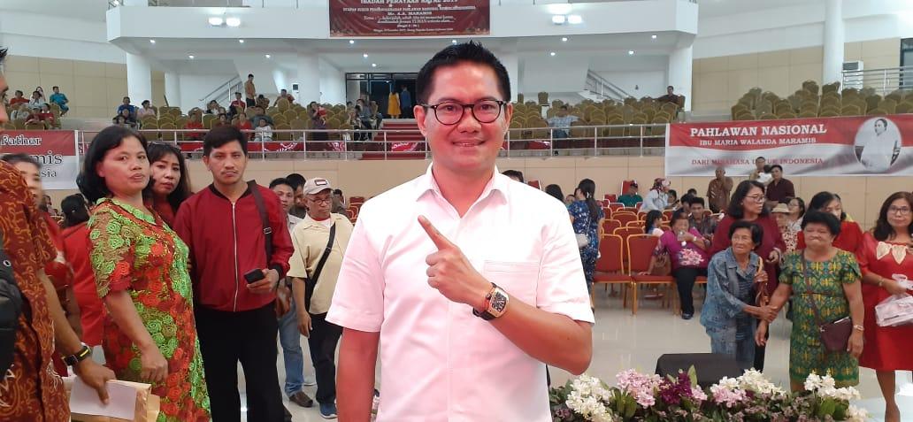 Ibadah Natal Keluarga Besar Maramis, JG Bangga Jadi Bagian Keluarga Pahlawan
